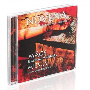 CD NOVENA MÃOS ENSANGUENTADAS DE JESUS