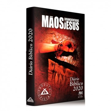 DÍARIO BÍBLICO 2020 MÃOS ENSANGUENTADADS DE JESUS