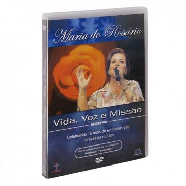 DVD VIDA, VOZ E MISSÃO