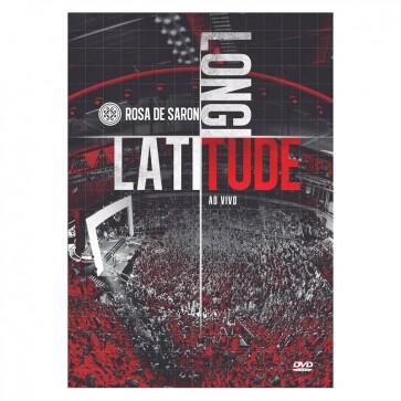 DVD ROSA DE SARON LATITUDE LONGITUDE AO VIVO