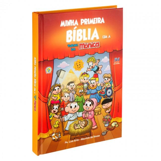 MINHA P BÍBLIA COM A TURMA DA MÔNICA MODELO - Produtos que
