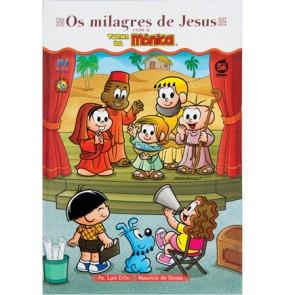 OS MILAGRES DE JESUS TURMA DA MÔNICA