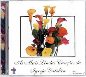 CD AS MAIS LINDAS CANÇÕES - VOLUME 2