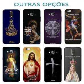 CAPINHA SAGRADO CORAÇÃO DE JESUS - RELIGIOSO 115 - IPHONE 6 PLUS