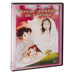 DVD AS APARIÇÕES DE NOSSA SENHORA DE FÁTIMA