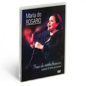 DVD FORÇA DA MINHA FRAQUEZA