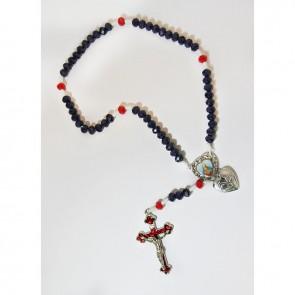 TERÇO IMACULADO COR DE MARIA E SAG CORAÇÃO DE JESUS