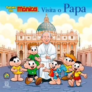 TURMA DA MÔNICA VISITA O PAPA